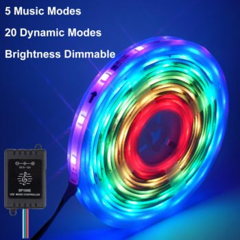 мусиқӣ Sync Led strip